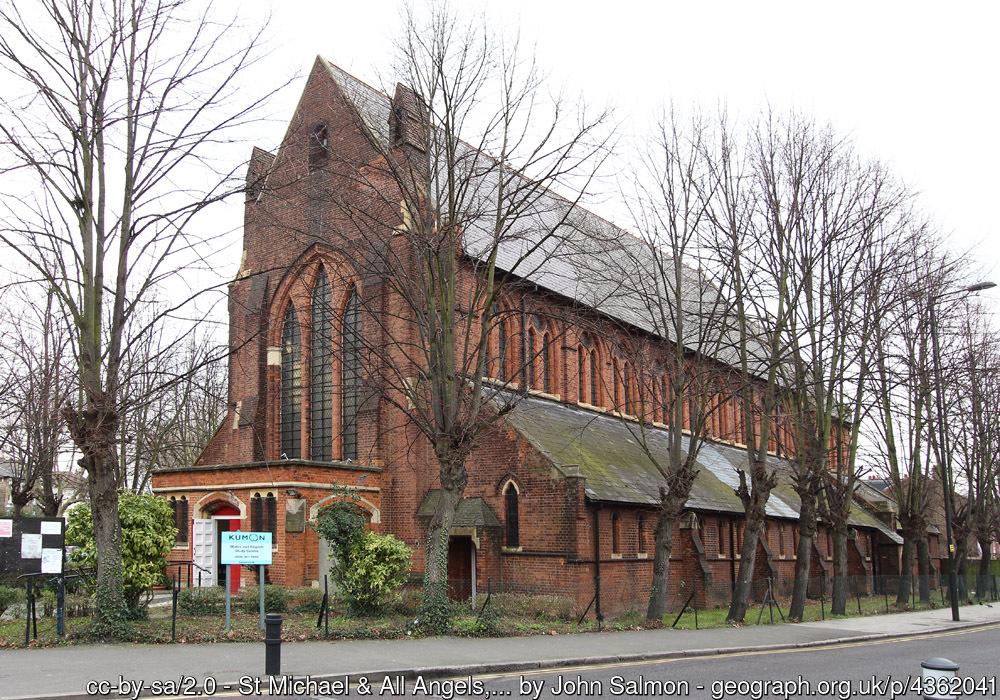 St Michael & All Angels church, Stoke Newington